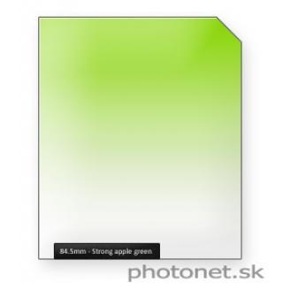 84.5mm Apple Green Strong prechodový filter