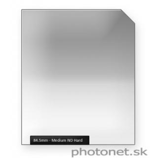 84.5mm  ND  Medium Hard šedý prechodový filter