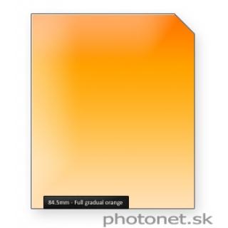 84.5mm Orange Full Gradual prechodový filter