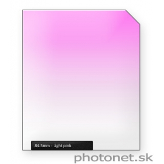 84.5mm Pink Light prechodový filter