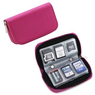 Kood MCP-22 Pink púzdro na pamäťové karty ružové
