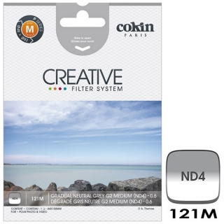 Cokin P121M (M Size) G2 Medium ND4 prechodový filter