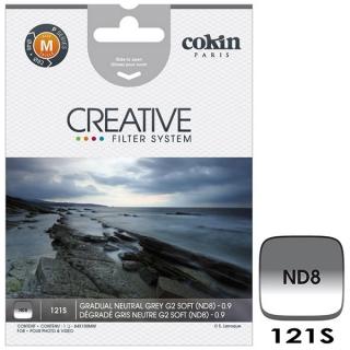 Cokin P121S (M Size) G2 Soft ND8 prechodový filter
