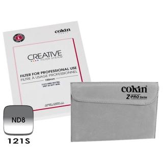 Cokin Z121S (L Size) G2 Soft ND8 prechodový filter