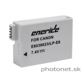 LP-E8 akumulátor Eneride pre Canon