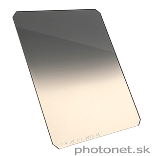 Formatt-Hitech 100mm 81B/ND 0.6 Grad Soft - kombinovaný šedý prechodový filter ND4