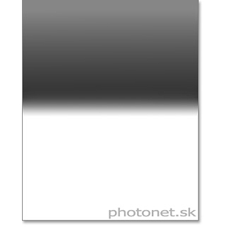 Formatt HD Glass 100mm 0.9 Reverse ND8 sklenený šedý prechodový filter