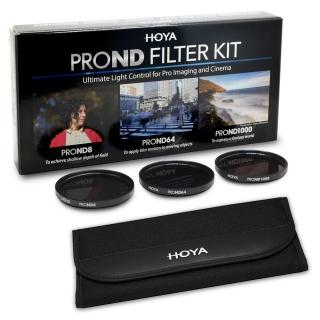 Hoya PRO ND Filter Kit (ND8, ND64, ND1000) 82mm