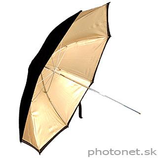 Kood štúdiový dáždnik  92cm zlatý