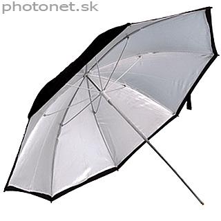 Kood štúdiový dáždnik  61cm strieborný