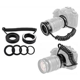 Makro reverzný dvojkrúžok pre Canon EF / EF-S