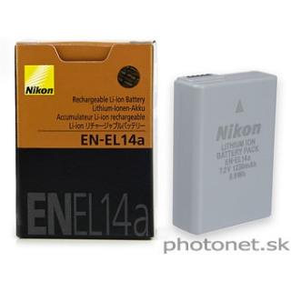 Nikon EN-EL14a akumulátor