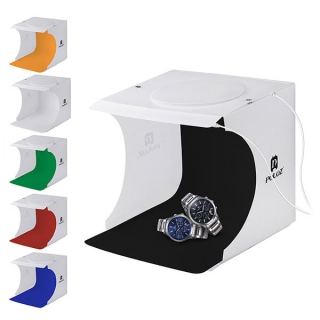 Fotostan Double LED set pre produktovú fotografiu