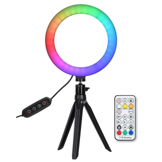 Quadralite LED Ring Light RGB 8 kruhové svetlo
