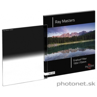 Ray Masters 150mm ND16 Hard prechodový filter