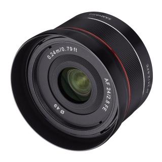 Samyang AF 24mm f/2.8 FE pre Sony E + CASHBACK -40€