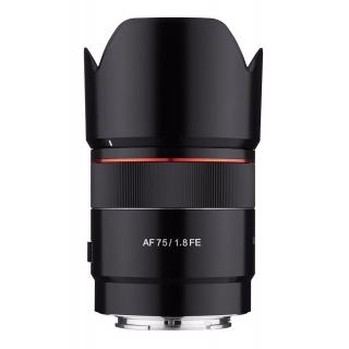 Samyang AF 75mm f/1.8 FE pre Sony E + CASHBACK -50€