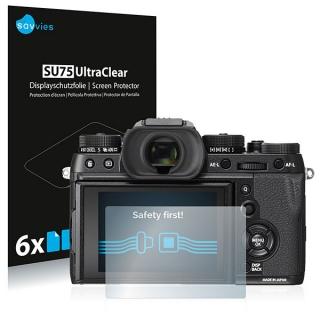 Savvies SU75 UltraClear ochranná fólia LCD 6ks pre Fujifilm X-T2