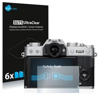 Savvies SU75 UltraClear ochranná fólia LCD 6ks pre Fujifilm X-T20