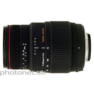 Sigma 70-300mm  f/4-5.6 APO DG Macro pre Canon