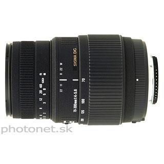 Sigma 70-300mm  f/4-5.6 DG Macro pre Canon