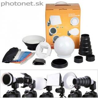Flash Accessory Kit CA-7 pre Canon 580EX II ...