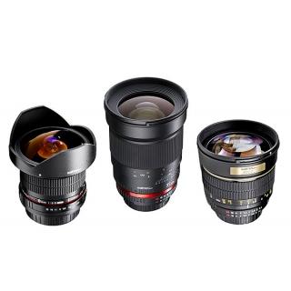 Walimex Pro set objektívov pre Nikon (made by Samyang)